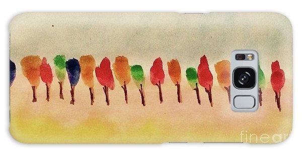 Lollipop Trees Galaxy Case by Kim Nelson