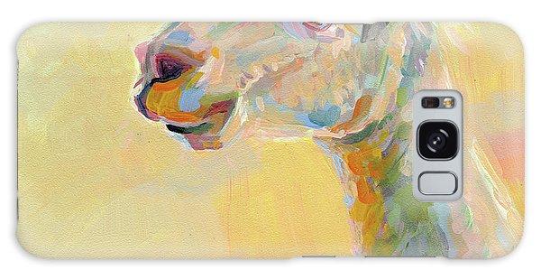 Llama Galaxy S8 Case - Lolly Llama by Kimberly Santini