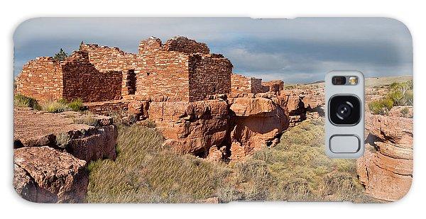 Lomaki Pueblo Ruins Galaxy Case