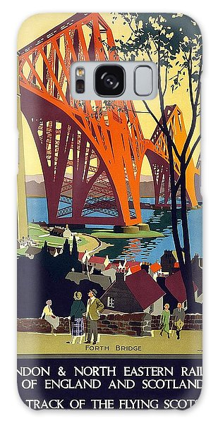 London And North Eastern Railway - Retro Travel Poster - Vintage Poster Galaxy Case