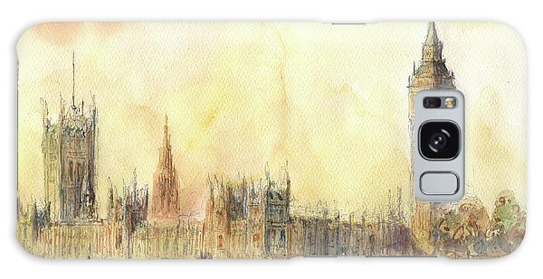 London Big Ben And Thames River Galaxy Case