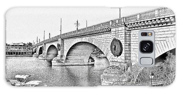 London Bridge Lake Havasu City Arizona Galaxy Case