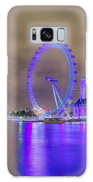 London Cityscape At Night 5x7 Galaxy Case