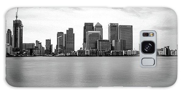 London Eye Galaxy Case - London Docklands by Martin Newman