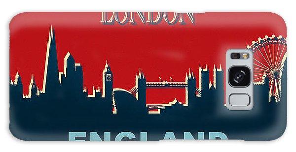 Traveler Galaxy Case - London England Skyline by Dan Sproul