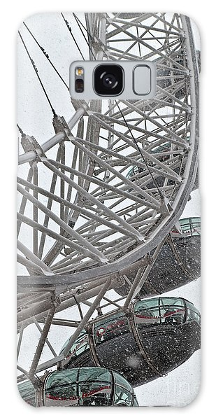 London Eye And Snow Galaxy Case