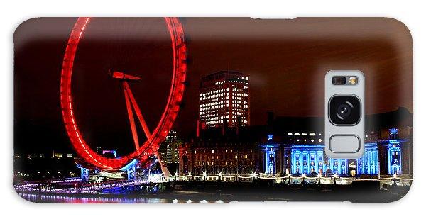 London Eye Galaxy Case by Heather Applegate