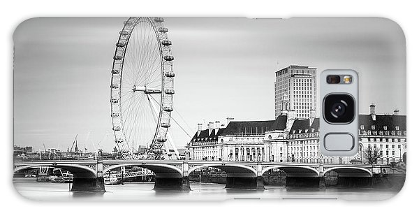 London Eye Galaxy Case by Ivo Kerssemakers