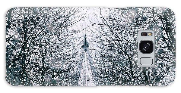 London Eye Galaxy Case - London Eye Snow by Martin Newman