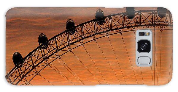 London Eye Galaxy Case - London Eye Sunset by Martin Newman
