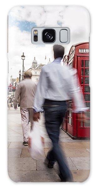 London In Motion Galaxy Case