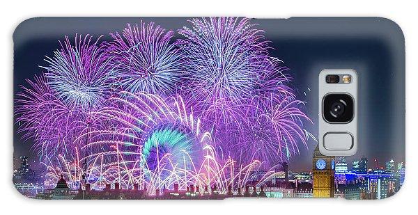 London New Year Fireworks Display Galaxy Case
