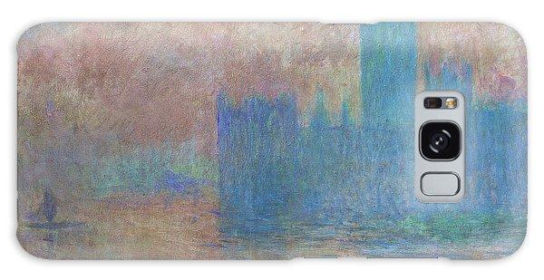 Houses Of Parliament Galaxy Case - London Parliament by Claude Monet