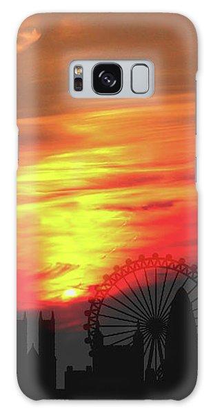Sunset London Galaxy Case
