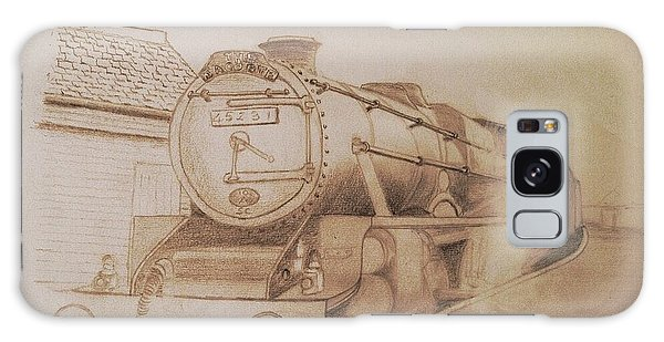 London Steam Locomotive  Galaxy Case