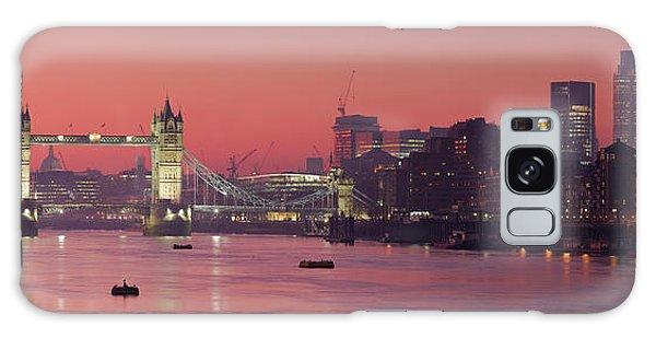 London Thames Galaxy Case by Thomas M Pikolin