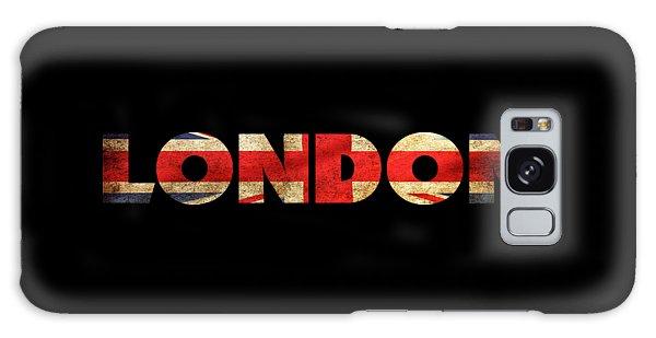 London Vintage British Flag Tee Galaxy Case