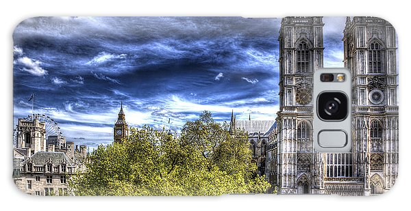 London Westminster Abbey Surreal Galaxy Case