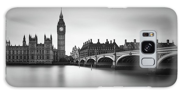 Houses Of Parliament Galaxy Case - London, Westminster Bridge by Ivo Kerssemakers