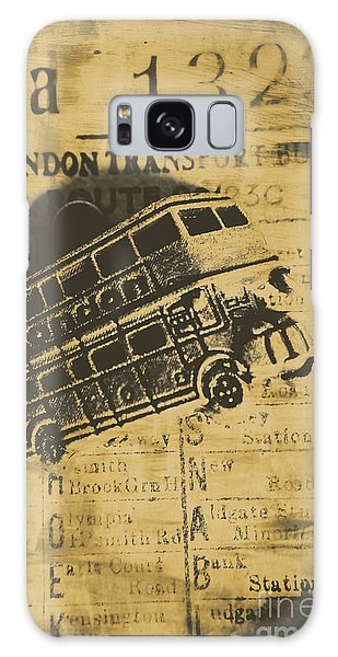 Vintage Cars Galaxy Case - Londoners Run by Jorgo Photography - Wall Art Gallery