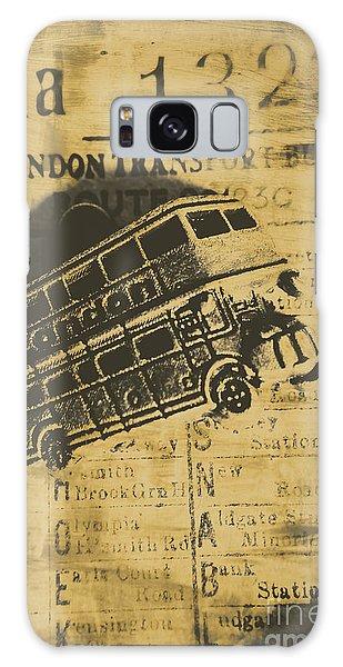 Old Car Galaxy Case - Londoners Run by Jorgo Photography - Wall Art Gallery