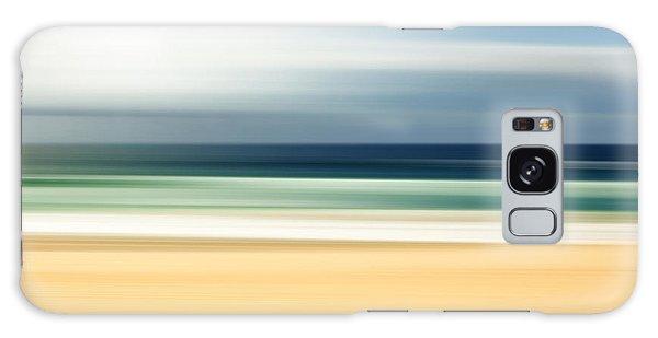 Scenery Galaxy Case - Lone Beach by Az Jackson