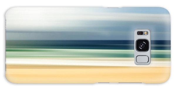 Surrealism Galaxy Case - Lone Beach by Az Jackson
