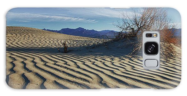 Lone Bush Death Valley Hdr Galaxy Case by James Hammond