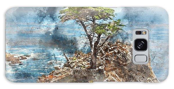 Lone Cypress In Monterey California Galaxy Case