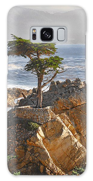 Lone Cypress - The Icon Of Pebble Beach California Galaxy Case