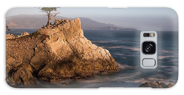 lone Cypress Tree Galaxy Case