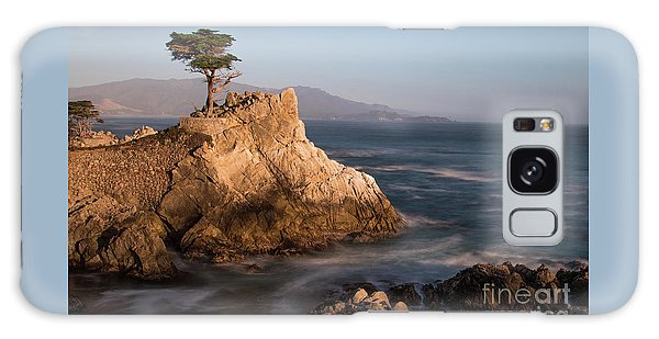 lone Cypress Tree Galaxy Case