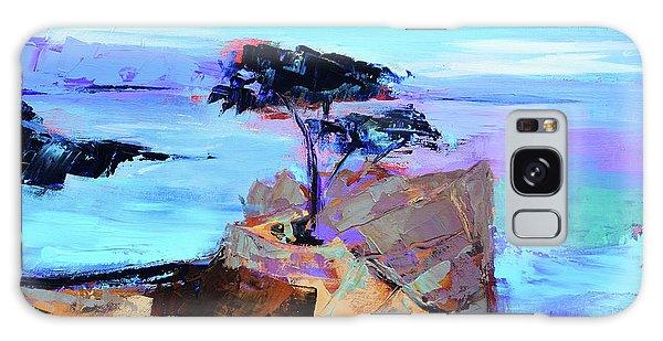 California Galaxy Case - Lone Cypress - California by Elise Palmigiani