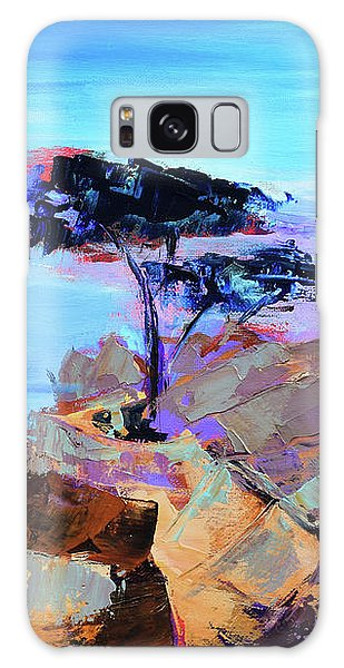 Monterey Galaxy Case - Lone Cypress - California by Elise Palmigiani