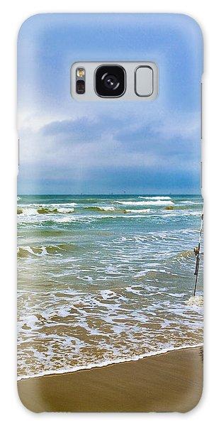 Lone Fishing Pole Galaxy Case