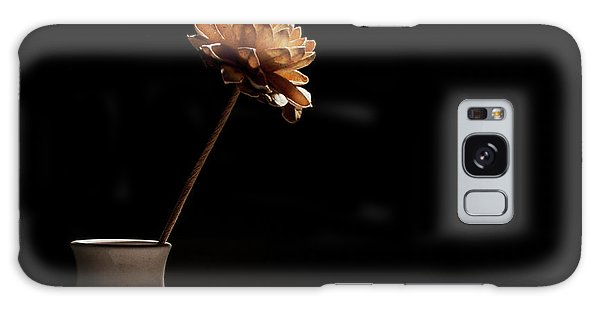 Lone Flower Galaxy Case