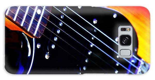Lone Guitar Galaxy Case by Stephen Melia