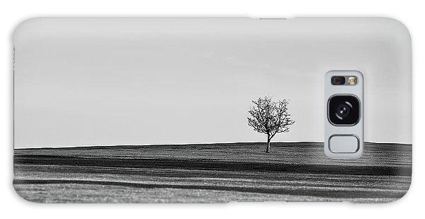 Lone Hawthorn Tree Iv Galaxy Case