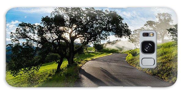 Lone Oak On Figueroa Mountain Road Galaxy Case