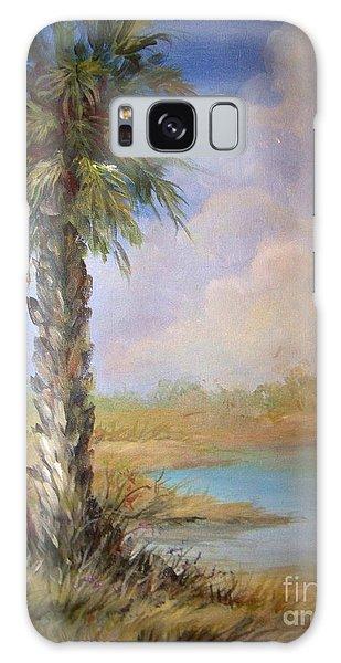 Lone Palm Galaxy Case