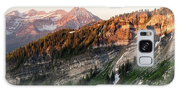 Lone Peak Wilderness Panorama Galaxy Case