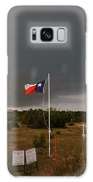 Lone Star Supercell Galaxy Case by Ed Sweeney