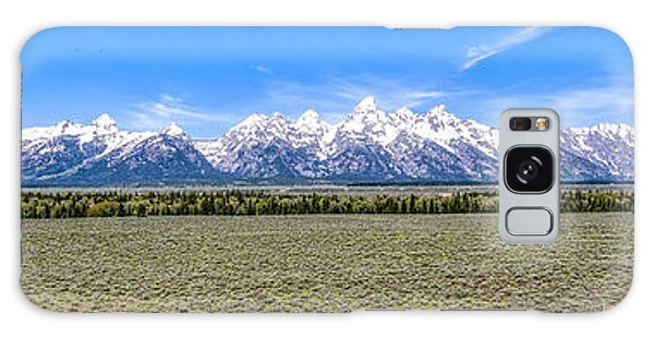 Lone Tree And The Tetons Galaxy Case