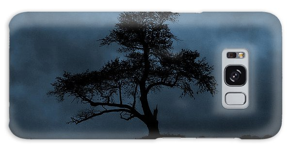 Lone Tree Blue Galaxy Case by Cindy Haggerty
