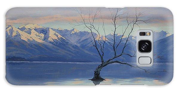 Mountain Lake Galaxy Case - Lone Tree by Graham Gercken