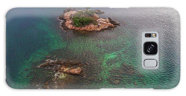 Galaxy Case featuring the photograph Lone Tree On Rock Top by Pradeep Raja PRINTS