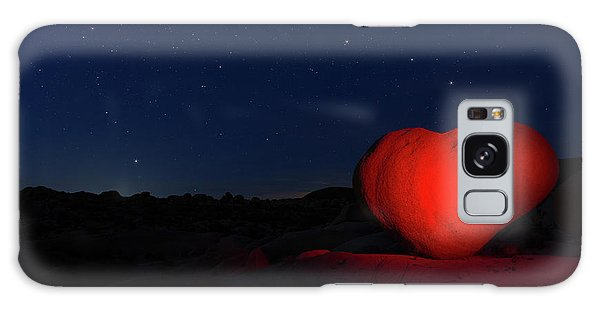 Galaxy Case featuring the photograph Lonely Heart   by Tassanee Angiolillo