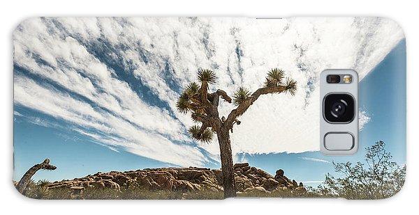 Lonely Joshua Tree Galaxy Case by Amyn Nasser