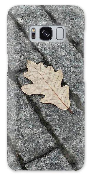 Lonely Leaf Galaxy Case