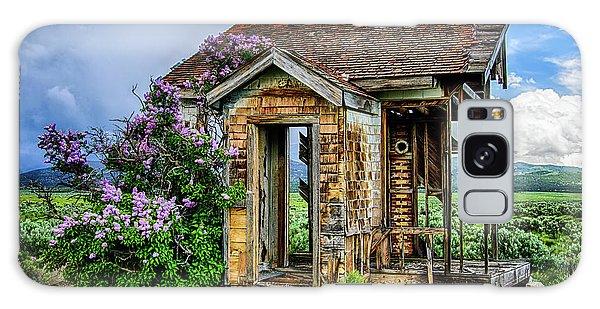Lonely Lilacs Galaxy Case
